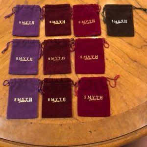 Jewelry - 10 cinch jewelry bags